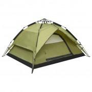 Sonata Pop up палатка за къмпинг 2-3-местна 240x210x140 см зелена