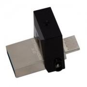 Kingston 16GB DT MicroDuo USB 3.0 DTDUO/16GB metal-braon