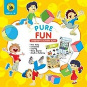 Pure Fun Children's Activity Book: Assortment of Fun Kids Activities for Boys and Girls Ages 4 to 8 - Crossword, Shadow Matching, How Many, Word Searc, Paperback/Talking Turtle Books