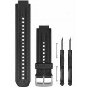 Garmin Forerunner® 25 armband- Large svart/rött