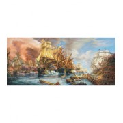 Puzzle Castorland panoramic - 600 de piese - Battle at the S