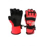 Finn dětské zimní rukavice C075 6-7 let červená