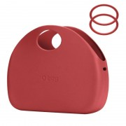 O bag red body About Moon Rosso