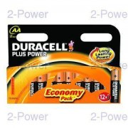 Duracell Plus Power AA 12 Pack