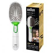 Braun Satin Hair 7 BR 750 Ionische haarborstel wit