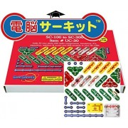 Snap Circuits Jr. Dennou Circuit Upgrade Kit 100to300 ?Japanese Authorized Agency? Japanese Experiment Guide