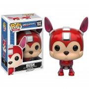 Funko Pop Rush De Megaman Classic Series Mega Man