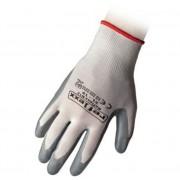 Reflexx Guanti Taglia M (8) In Nitrile Bianco/grigi N12