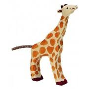 Fa játék állatok - zsiráf, legelő