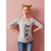 Camisola Minnie®, pré-mamã cinzento medio mesclado