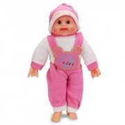 Big Laughing Baby Semi Soft Toy With Laughing Sound 44cm Assorted