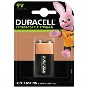 Duracell 9 volt, Uppladdningsbart batteri, Duracell 1st.