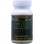 CBD Cannabidiol 10 Capsulas 25mg