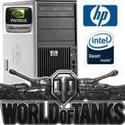 Staţie HP Z400 Gaming PC Intel® Xeon® 16GB 2TB DVD-RW NVIDIA® Quadro® Windows 10