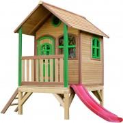 AXI - Tom Playhouse: Maisonnette pour enfants, fenêtres intégrées et