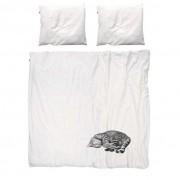 Snurk Ollie dekbedovertrek Snurk-2-persoons 240 x 220 cm incl. 2 kussenslopen 60 x 70 cm