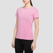 NIKE Pro all over mesh sportshirt roze dames Dames - roze - Size: Medium