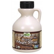 Now Foods Organic Maple Syrup - Grade A Dark Color (473 ml) - Now Foods
