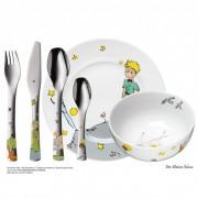 Детски комплект прибори за хранене от 6 части WMF Der Kleine Prinz