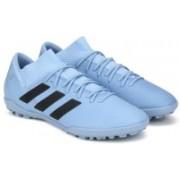 ADIDAS NEMEZIZ MESSI TANGO 18.3 TF Football Shoes For Men(Blue)