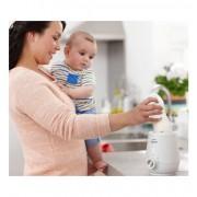 Уред за затопляне на кърма и бебешка храна с бърза функция
