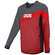 IXS Race 7.1 DH Jersey Gris Rojo L
