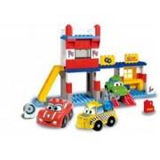Unico Cars For Kidz Garaj Cu Masini 108 Piese