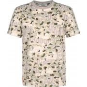 Tommy Jeans Heren T-shirt beige olijf, S