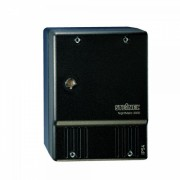 Senzor crepuscul 550516 negru comutator fotoelectric PT cu senzor crepuscular si decuplare nocturna programabila