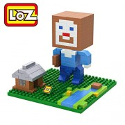Generic LOZ Mini Block Minecraft Steve Zombie Skeleton Diamond Micro Building Blocks Steve Fun Assemblage DIY Action Figure Toysfor Gift 9468