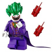 LEGO The Batman Movie Limited Edition Minifigure - Joker with Wide Grin Open Smile Dynamite (211702)