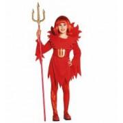 Costum Diavolita Copii Halloween Widmann 5 - 7 ani 128 cm
