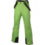 ALPINE PRO MOLINI 2 Pánské lyžařské kalhoty MPAH061528 zelená XXXL