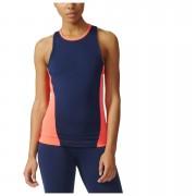 adidas Women's Stella Sport Easy Training Tank Top - Blue/Pink - XS - Blue/Pink