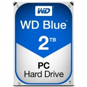"Western Digital WD Blue WD20EZRZ - Disco rígido - 2 TB - interna - 3.5"" - SATA 6Gb/s - 5400 rpm - buffer: 64 MB"