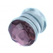 Jewelled Plaars Pyrex Glas Plug (per paar) - 16 MM