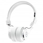 NIA-X6 Over-ear Bluetooth Headphone Support Micro SD Card Play / FM Radio / Audio Input / Hands -free Phone Call - White