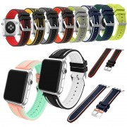 Apple For Apple Watch Soft Silicone Replacement Sport Band For Apple Watch Series 3/1/ 2 Watch Bands Sport&Edition 2017