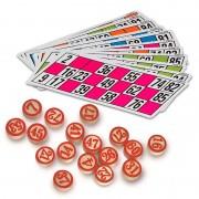 Pack de Cartones y Fichas XXL para Bingo