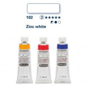 Schmincke Mussini olajfesték, 35 ml - 102, zinc white