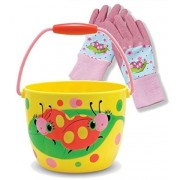 Melissa & Doug Sunny Patch Mollie and Bollie Pail with Gloves set