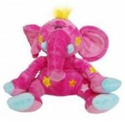 Mascota Beppe Elefant roz 33 cm
