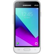 "Telefon Mobil Samsung Galaxy J1 Mini Prime SM-J106, Procesor Quad-Core 1.2GHz, TFT Capacitive touchscreen 4"", 1GB RAM, 8GB Flash, 5MP, Wi-Fi, 3G, Dual Sim, Android (Alb) + Cartela SIM Orange PrePay, 6 euro credit, 4 GB internet 4G, 2,000 minute nationale"