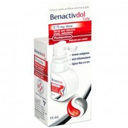 Reckitt Benckiser H.(It.) Spa Benactivdol Gola 8,75 Mg/Dose Spray Per Mucosa Orale, Soluzione, 15Ml In Flacone Hdpe