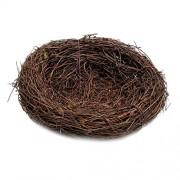 ELECTROPRIME® 10cm Rattan Vine Bird Nest Feeder Bird House Creative Gift Present Kid Toys