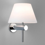 Astro Roma wandlamp exclusief G9 chroom 19x15x15.3cm IP44 staal A++ 0343