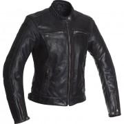 Segura Motorradschutzjacke, Motorradjacke Segura Nygma Damen Lederjacke schwarz 46 schwarz