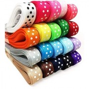 DIY Crafts Satin Grosgrain Ribbons for Crafts(3/8 X 40 Yards 20 Colors)