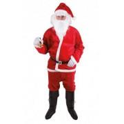 Disfraz Papá Noel adulto peluche Única