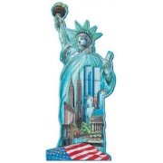 1000pc. Statue of Liberty Shaped Puzzle
